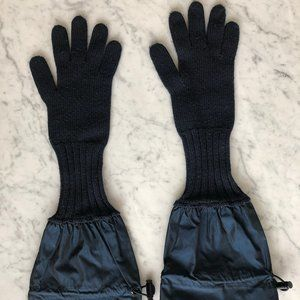 Burberry Prorsum Gloves (Authentic) - Wool, Navy